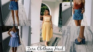 Zara Clothing Haul (Try-On) l Olivia Jade