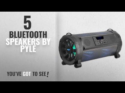 Top 5 Pyle Bluetooth Speakers [2018]: Pyle Bluetooth Boombox Street Blaster Stereo Speaker -