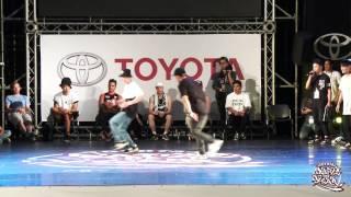 Bboy Crew Battle Semifinal-1 CJCU vs UNITY | 2015 TOYOTA BOTY TAIWAN