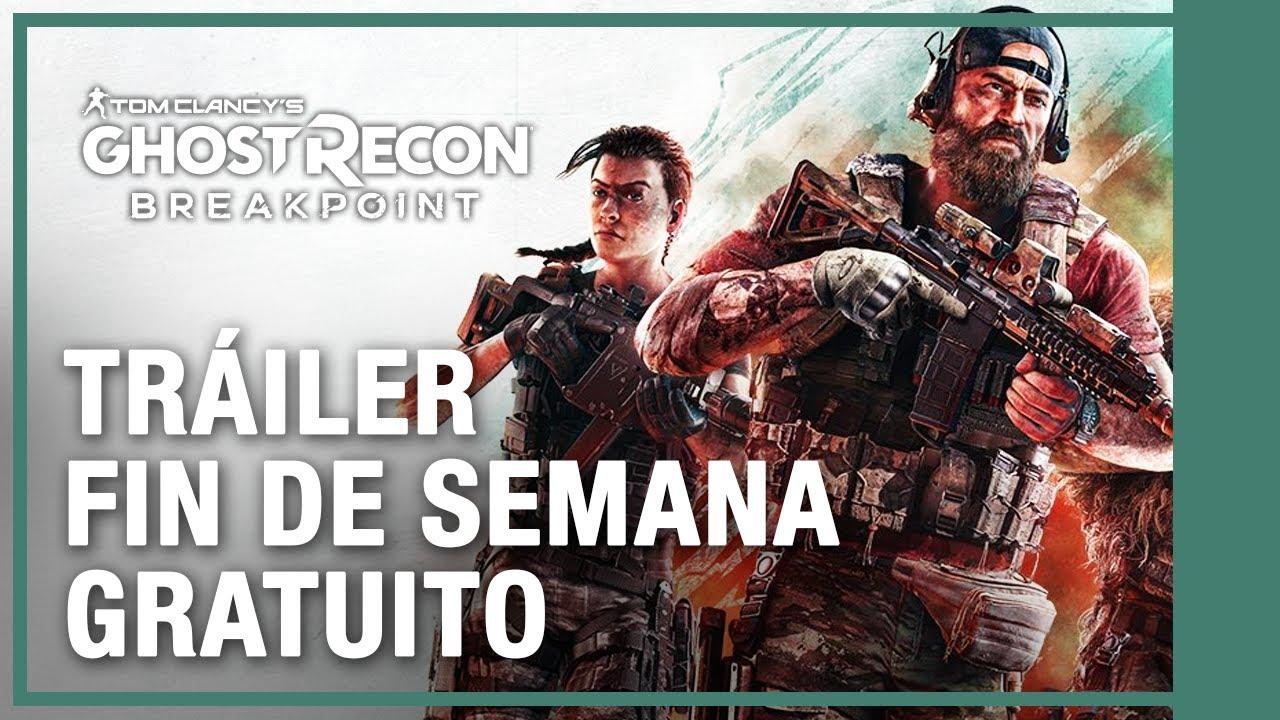 Tom Clancy's Ghost Recon Breakpoint - Fin de Semana Gratis Enero 21-24 Tráiler | Ubisoft LATAM