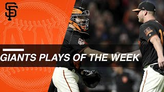 Giants Plays of the Week: 9/10/18 - 9/16/18 thumbnail