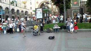 День ВДВ в КИЕВЕ- столице Украины 2.08.2015