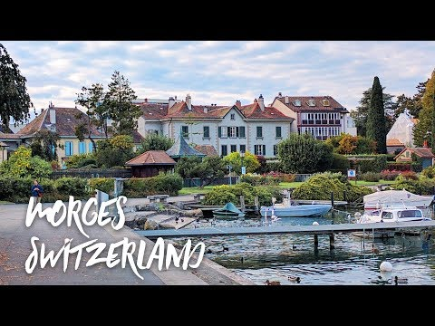 Beautiful Morges Switzerland | The 'City of Flowers' on Lake Geneva