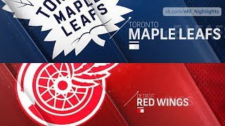 Toronto Maple Leafs vs Detroit Red Wings Oct 11, 2018 HIGHLIGHTS HD