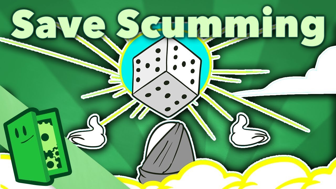 save scumming the game