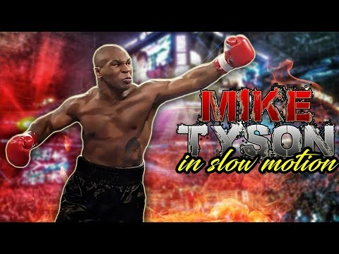 Mike Tyson - In Slow Motion | Highlights