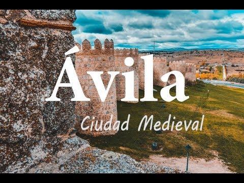 ÁVILA - Ciudad Medieval Amurallada
