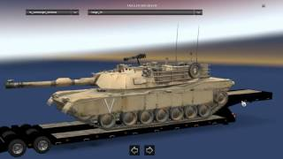 This mod adding Military Trailers 21 cargo  Tested version 1.24.x The trailer is standalone The trailer not in traffic Compatible with all trailer packs