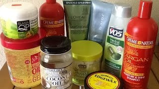 MUST WATCH -how to find the best hair care regimen/products for ALL hair types Thumbnail