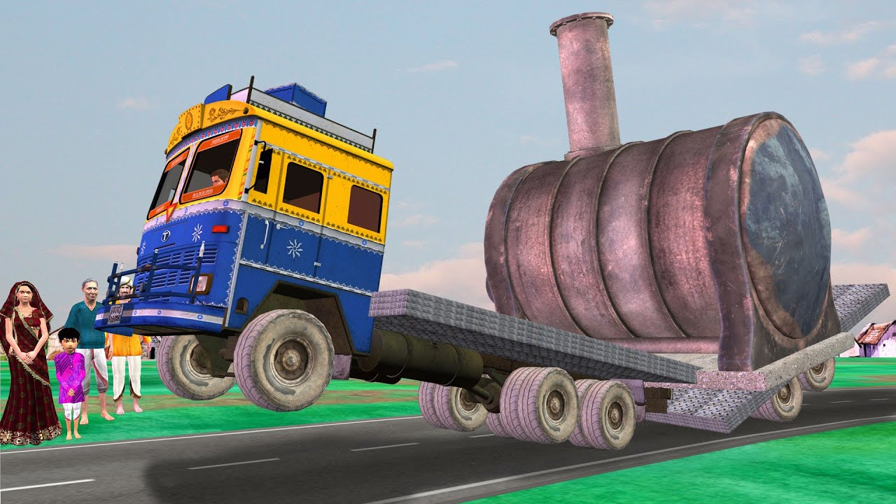 लालची लोरीवाला Lalchi Truck Wala Funny Village Comedy Video हिंदी कहानिय Hindi Kahaniya Hindi Story