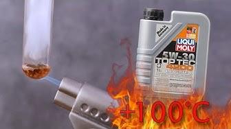 Liqui Moly Top Tec 4200 5W30 Longlife III Jak czysty jest olej silnikowy? Test powyżej 100°C