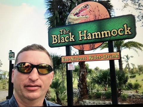 Airboat ride at Black Hammock, Lake Jesup Oviedo Florida