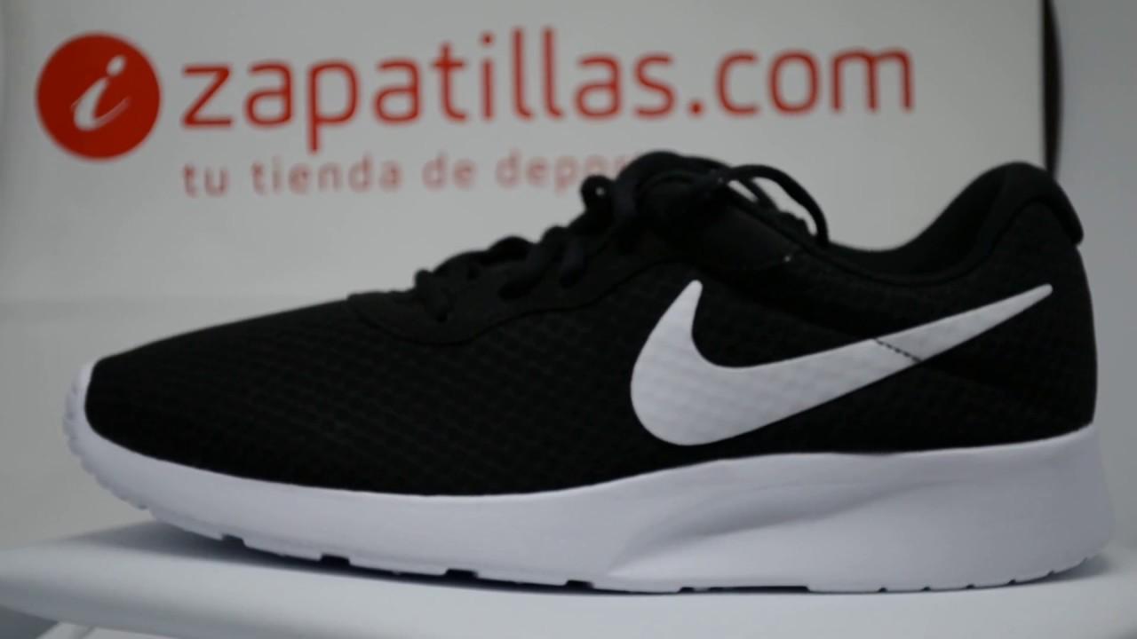 Zapatillas Nike Tanjun Negras y Blancas Valencia 51,04 €