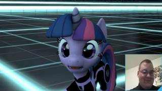 Holy...Crap!!! Mlp My Little Trony Reaction!!!