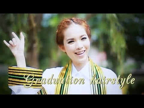 [How to] ทำผมรับปริญญา ,Updo By Buablink
