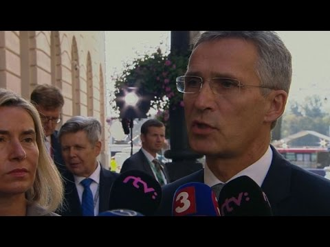 'No contradiction' between EU defence and NATO, says Stoltenberg