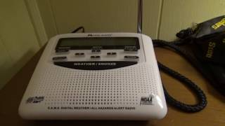 NOAA Weather Radio WWG56 (Youngstown, OH) Broadcast Cycle - 5/15/16