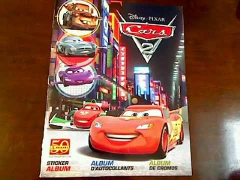 Panini 2011 Disney Pixar Cars 2 100 Complete Youtube