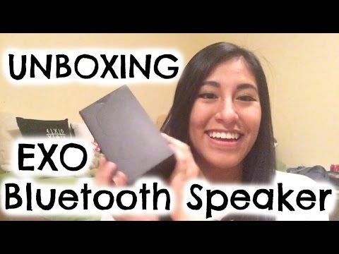 Unboxing EXO Bluetooth Speaker