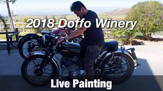 Motorcycle Art Part 72 / 2018 Doffo Winery