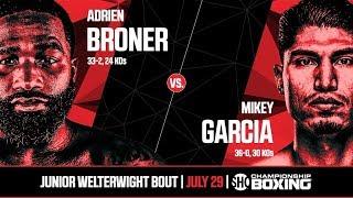 MIKEY GARCIA VS ADRIEN BRONER PROMO [HD]