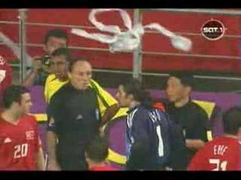 Rivaldo playacting at 2002 World Cup