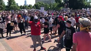 At OKC rally, protesters say it's time for change