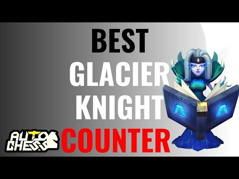 BEST GLACIER KNIGHT COUNTER! 6 HUNTER 4 WARLOCK 4 EGERSIS 2 WIZARD   AUTO CHESS MOBILE GAMEPLAY