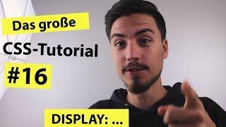 видео CSS display (block, inline, none) - виды HTML элементов на вебстранице