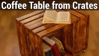 видео 10 идей: журнальный столик своими руками