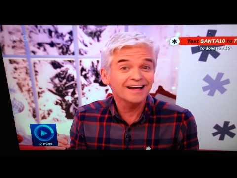Phillip Schofield went for a wee...