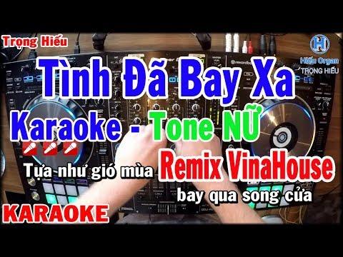 Tình Đã Bay Xa Remix ❣️ Châu Anh ❣️