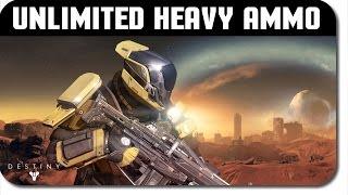 "Destiny Glitches ""New"" Unlimited Heavy Ammo Glitch!"