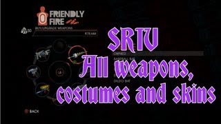 Saints Row IV - All Weapons, Costumes and Skins