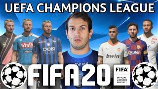 GLI OTTAVI DI FINALE - FIFA 20 UEFA CHAMPIONS LEAGUE - SE I VIDEOGIOCHI PARLASSERO