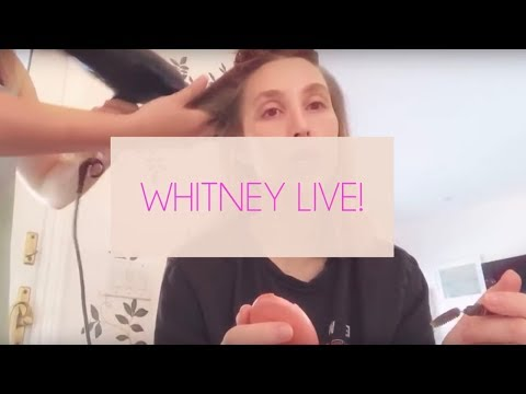 Live Q&A With Whitney Port While Getting Ready for an Event