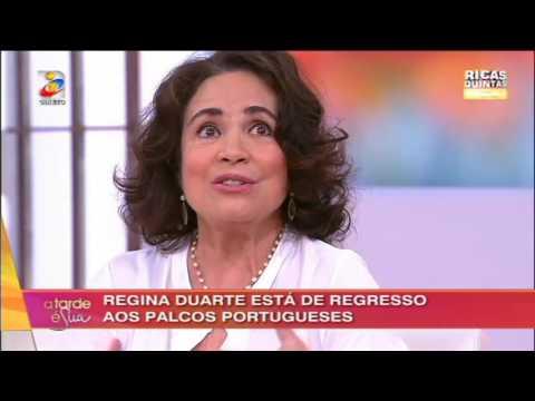 Regina Duarte - A Tarde é Sua 7 de Abril de 2016