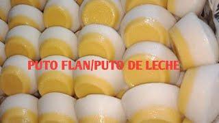 Puto Flan/Puto De Leche