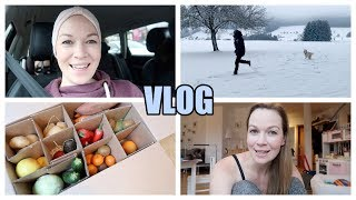 Family Vlog | Schnee Fail |Neues Konzept | etepetete