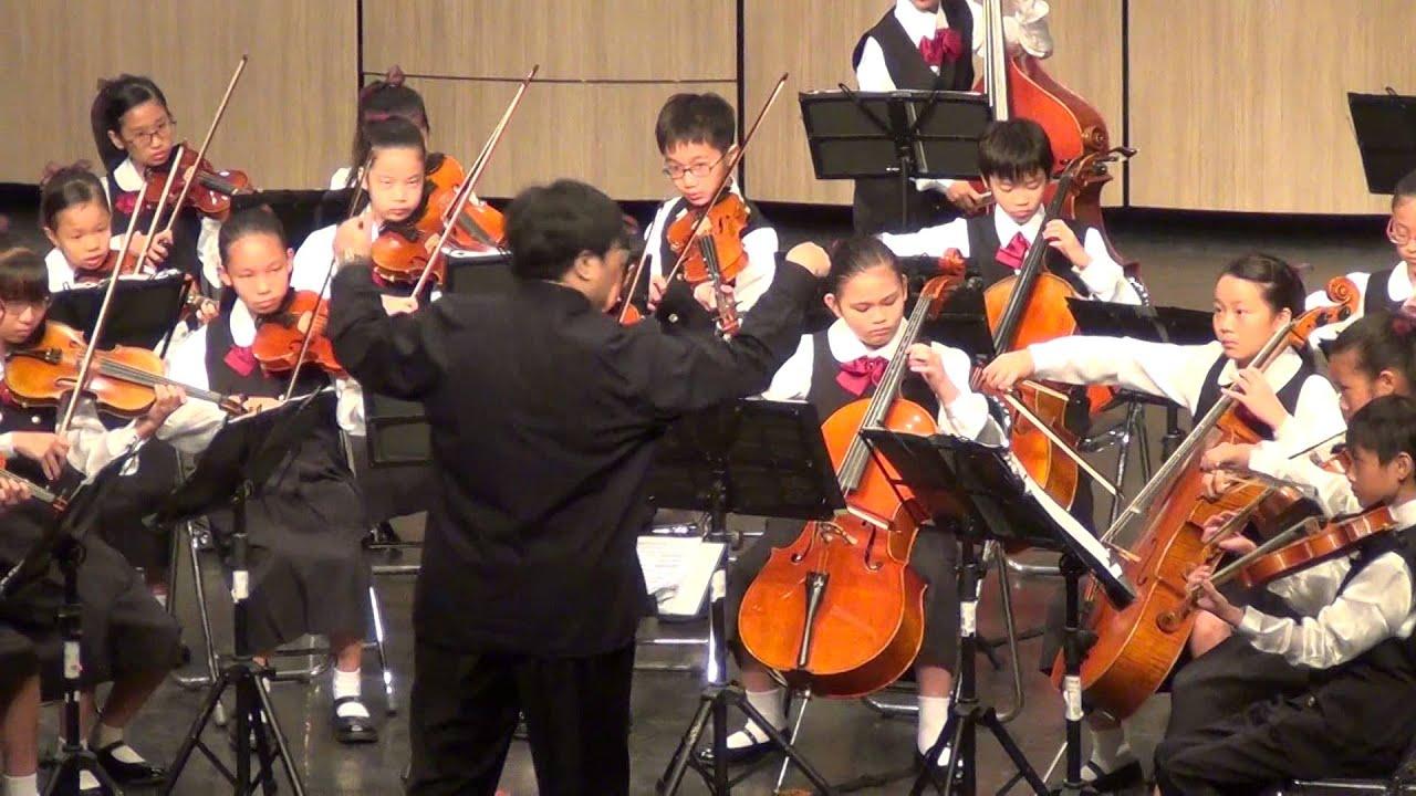2015光明國小新竹縣決賽弦樂合奏自選曲 - YouTube