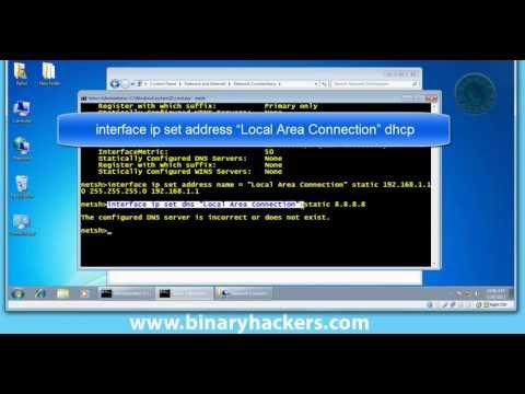 How To Change IP Address Using CMD (Command Prompt)