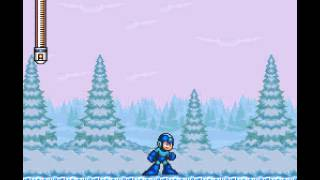 Mega Man 7 - Mega Man VII (SNES) - Freeze Man Theme - User video