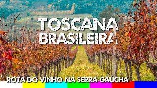 Serra Gaúcha - Rota do Vinho em Bento Gonçalves e Vale dos Vinhedos