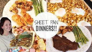 WHAT'S FOR DINNER | SHEET PAN DINNERS | EASY DINNER IDEAS | THE WELDERS WIFE