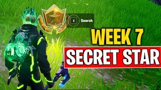 SECRET BATTLE STAR WEEK 7 SEASON 10 LOCATION (FORTNITE SEASON X) WEEK 7 SECRET BATTLE STAR FOUND