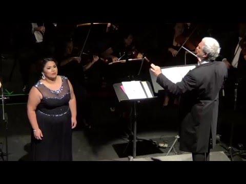 """Vissi d'arte""... Tosca... Andrea Cortés-Moreno, Soprano"