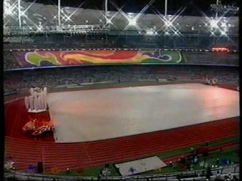1998 Kuala Lumpur Commonwealth Games Opening Ceremony - Parade of Athletes (Part 1 of 8)