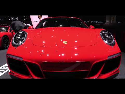 2017 Porsche 911 Carrera GTS | Exterior and Interior Look around & First Look at Auto Show