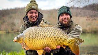 Открытие сезона 2021 Карповая рыбалка Озеро Барановское март