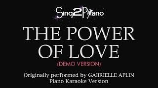 The Power of Love (Piano Karaoke Demo) Gabrielle Aplin
